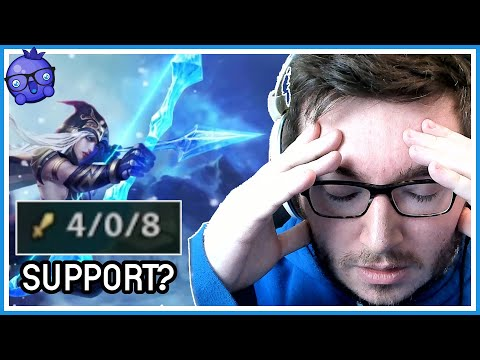 Ashe Support but it will cost me my integrity