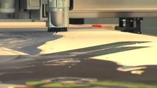 Grafitroniks - Zund - Repérage automatique des points + fraisage plastique expansé