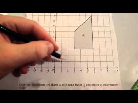 Enlargement with fractional scale factors - Corbettmaths