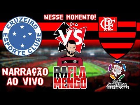 Flamengo X Cruzeiro Ao Vivo L Oitavas De Final L Copa Libertadores L Narração Ao Vivo