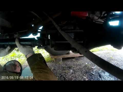 Замена сальника редуктора заднего моста на газели.