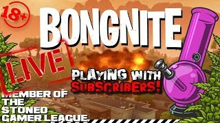 🔥 FORTNITE LIVE 💀 PLAYING WITH SUBS 🎮 Cross Platform On PC Xbox PS4 MOBILE 👑 KingBong 420 ☠