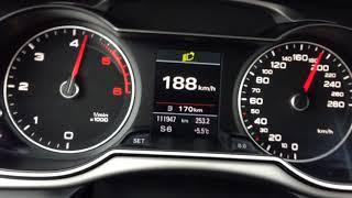 Audi A4 B8 2.0TDI 143KM Multitronic 0-200KM/H Acceleration German Autobahn