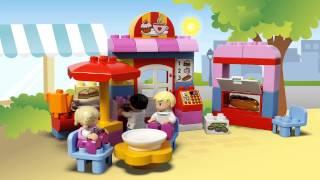 LEGO DUPLO - 10587 Кафе(Розвеселіть дитину безкінечним будуванням з набором Кафе LEGO® DUPLO®! Присядьте за столик та роздивіться меню..., 2015-07-03T10:52:20.000Z)