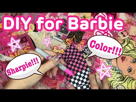 [DIY] COLOR BARBIE CLOTHES♡AZUSA BARBIE