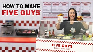 WE OPENED a Five Guys Restaurant ?? in our Apartment