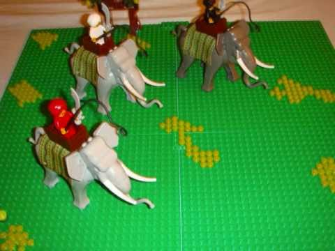 My Lego Indian Elephants Army