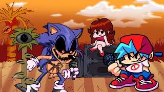 GF SALVA a BF del ATAQUE de SONIC.EXE - Friday Night Funkin Vs. Sonic.Exe [FULL WEEK] FNF Mods