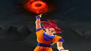 Goku SSJ God | Dragon Ball Z Budokai Tenkaichi 4