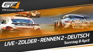 GT4 European Series - Zolder 2018 - Race 2 - LIVE - GERMAN