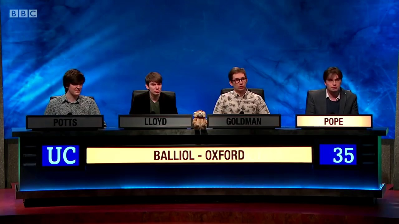 Profile Oxstu Meets The 2017 University Challenge Winners The