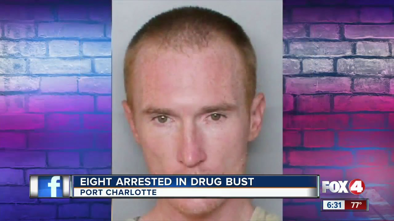 SWAT raid yields 8 arrests on drug charges in Port Charlotte