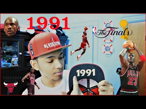 The Chicago Bulls 1991 Finals Snapback Review !