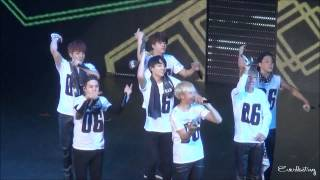 141116 BTS THE RED BULLET in Tokyo Jump Fan cam