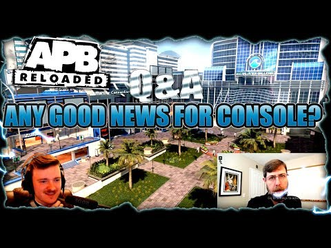 APB RELOADED – MATT SCOTT Q&A 2 (CONSOLE NEWS!!!)