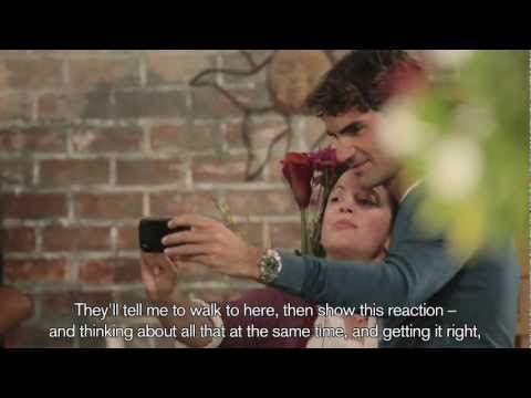 Making of Credit Suisse's ad with Roger Federer