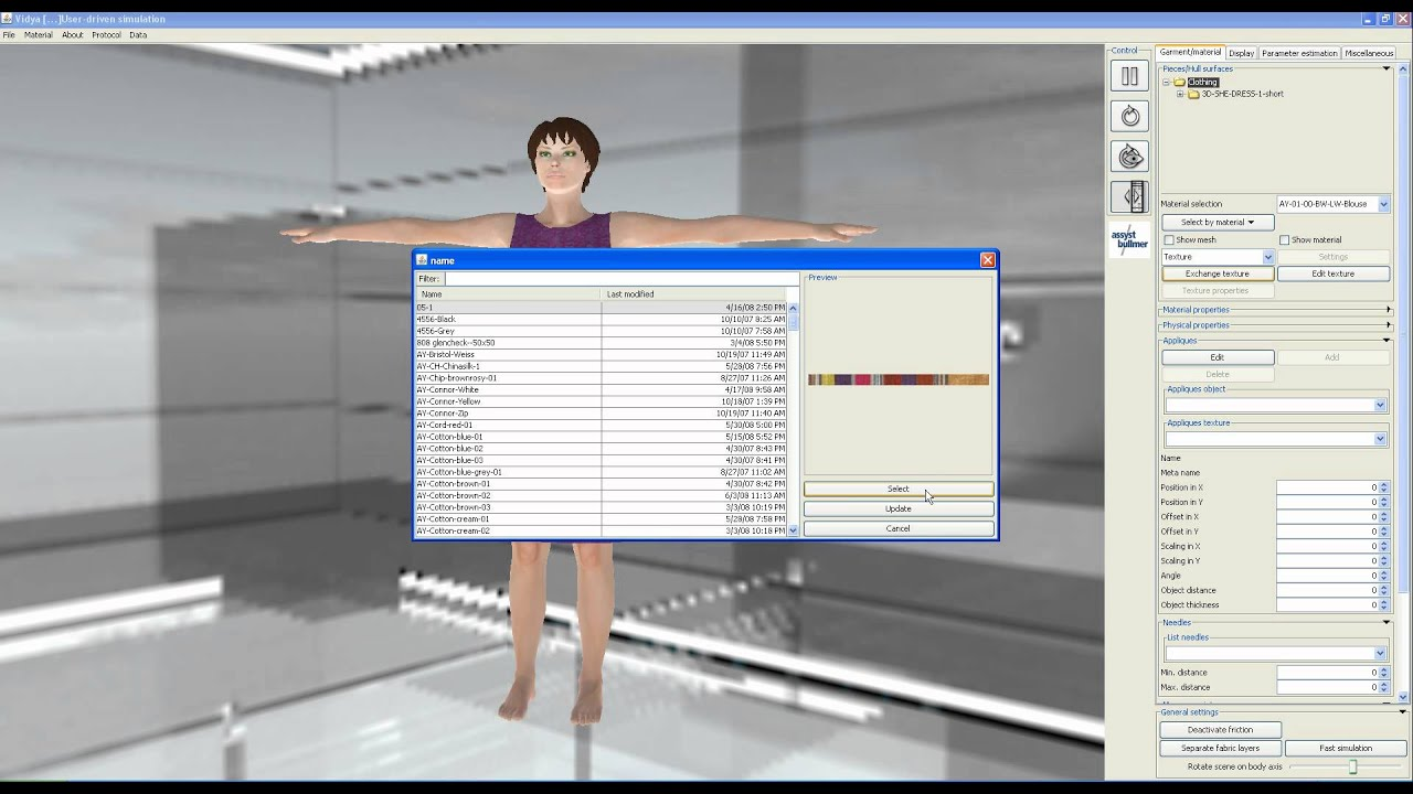 3d Fashion Clothing Simulation Software 3d Design