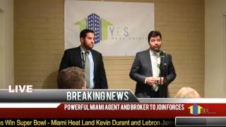 Yes Real Estate Services Press Conference Announcement
