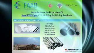 Faab Industries | Manufacturer And Exporters Of PTFE/PFA Molding And Lining Products.