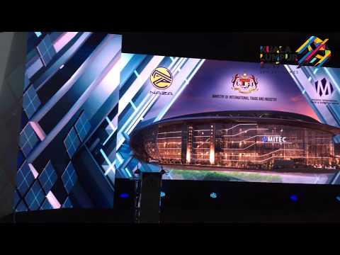 Kuala Lumpur 2017: Malaysia International Trade and Exhibition Centre (MITEC)