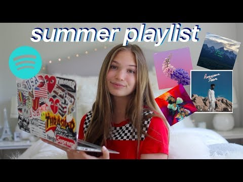 MY SUMMER 2018 MUSIC PLAYLIST | My Current Favorite Songs