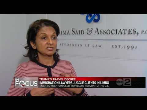 Baltimore immigration lawyers fielding calls from panicked clients over executive order