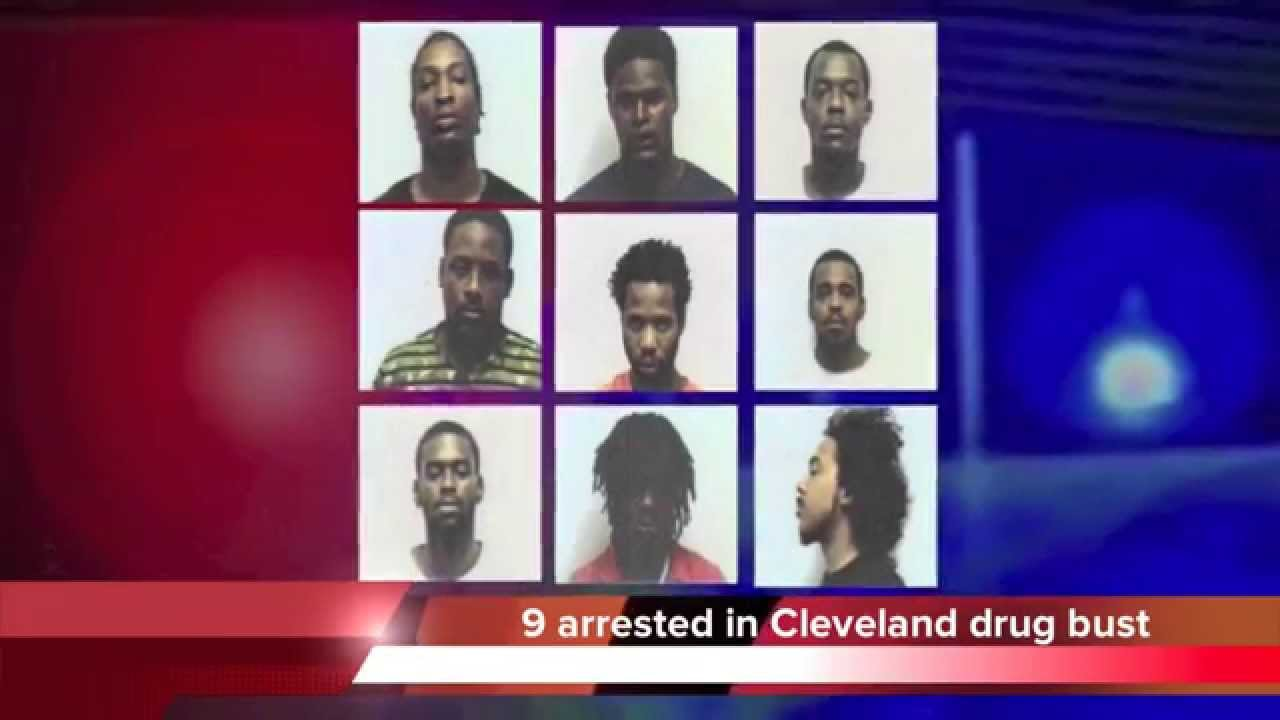 9 arrested in Cleveland TN drug bust