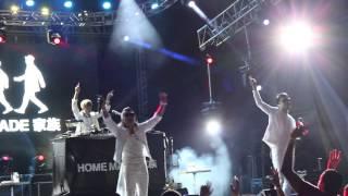Confiram a música We Are Family do show da banda japonesa Home Made...