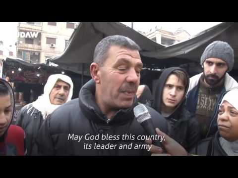 RUDAW VIDEO: Life on streets of Aleppo the day after gov't control