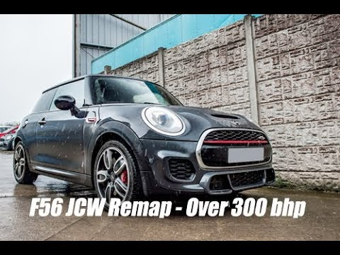 F56 Mini Jcw Stage 1 Manic Map Over 300bhp At Lohen Youtube