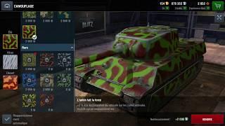World Of Tanks Blitz Game Play (AMX M4 45) v4.1.0