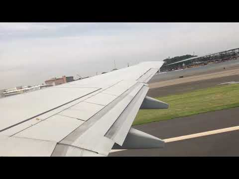 WestJet B737-6CT takeoff out of LaGuardia!