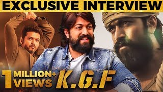 Download Thalapathy Vijay-னால மட்டும் எப்படி முடியுது ? - KGF Yash First Tamil Interview | MY 408 Mp3 and Videos