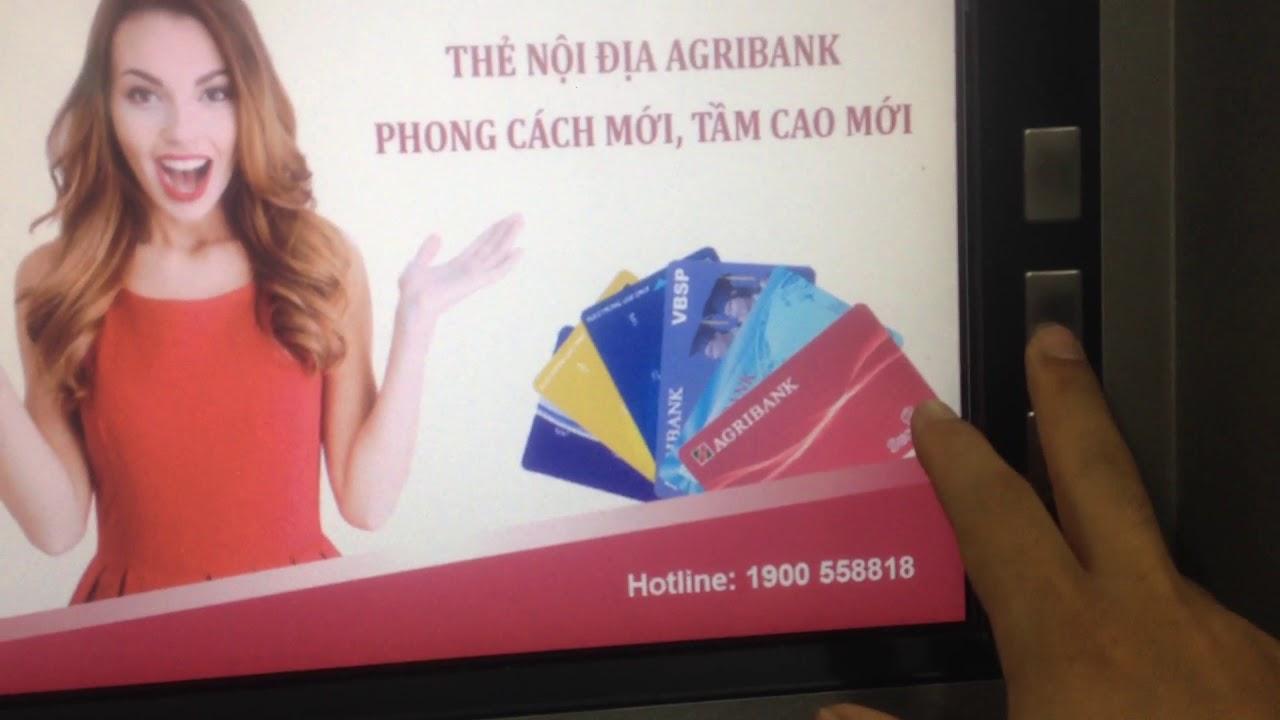 Agribank: tác dụng của tất cả các phím trên máy atm- rút tiền không cần thẻ atm