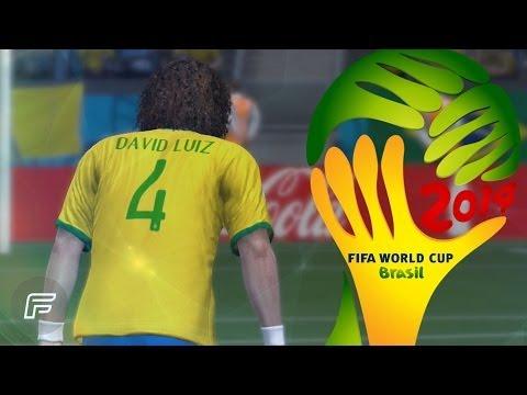 David Luiz Free Kick Vs. Colombia Remade 2014 FIFA World Cup: Brazil