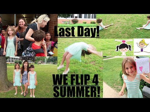 SCHOOL'S OUT FOR SUMMER - LAST DAY OF SCHOOL VLOG! 👩🏼👩🏼👩🏼🏫🥇