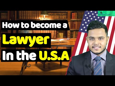 Step by step guide to become a lawyer in the United States   How to become a lawyer in the USA