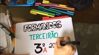 VIDEO FORMATURA 3ºrão A - E. E. Dr. João Pinheiro (MG, 2014)