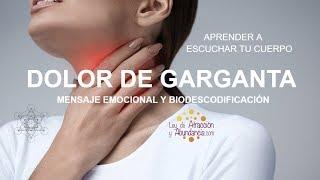 Biodescodificación De La Garganta Y Sanación, Faringitis, Laringitis, Dolor de Garganta