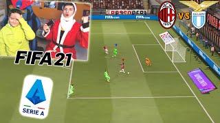 MILAN vs LAZIO - PARTITA NATALIZIA di SERIE A!! - Fifa 21