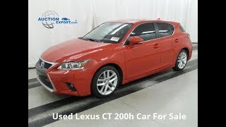 Used Lexus CT 200h For Sale in USA, Worldwide Shipping