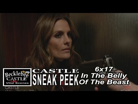 "Castle 6x17  Sneak Peek #1 ""In The Belly Of  The Beast""  Beckett at Gunpoint"