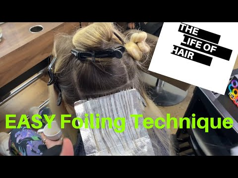 Easy Full Head Highlights Including Toner Technique  (Converting Full Head Scalp Bleach) | 2020 |