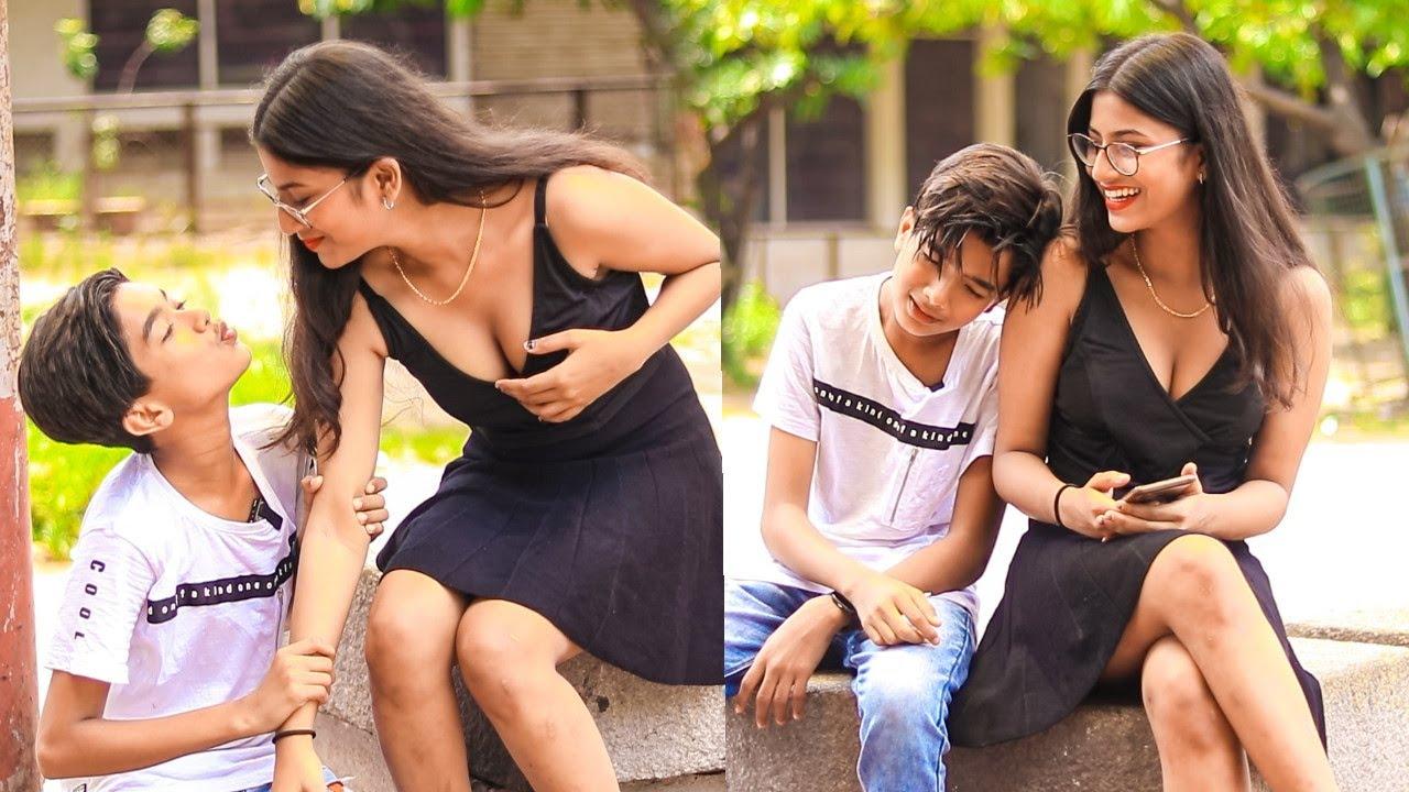 Owais Saying: चलो मेरी पत्नी बन जाओ Prank On H0t Girl | Funny Comedy Prank | New Twist | BR Masti