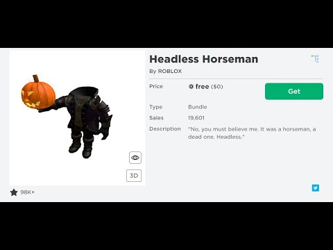How To Get The Headless Head For Free On Roblox Working How To Get Headless Head For Free Youtube