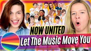 Baixar REACT Now United - Let The Music Move You (Animated Video) Reação e Comentários/ Acorda, Berenice!