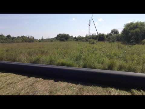 подготовка трубы 500мм под ГНБ протяжку
