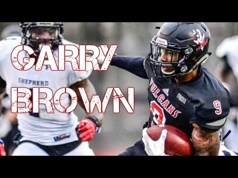 Garry Brown || Top D2 Receiver || Cal U Highlights