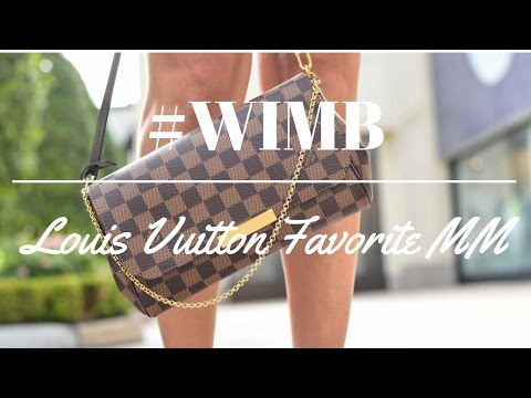 WHAT'S IN MY BAG - Louis Vuitton Favorite MM!!