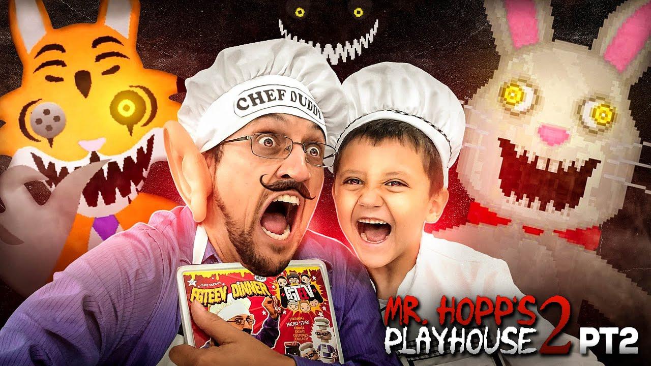 Download CHEF DUDDY vs. Mr. HOPPS Playhouse 2!  Rabbit Stew Getting MADE yo! 🎶 Part 2 Gameplay/Skit